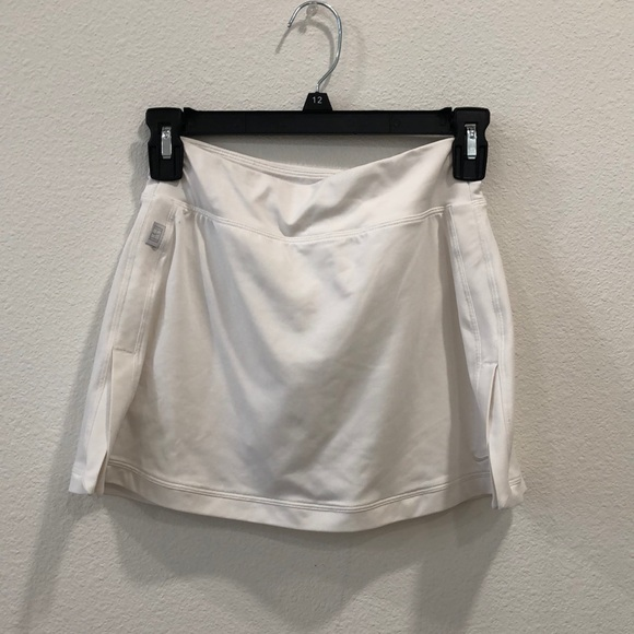 Nike mini white skirt with shorts attached